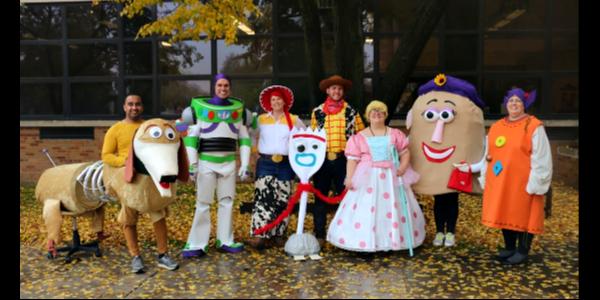 staff Halloween 2019